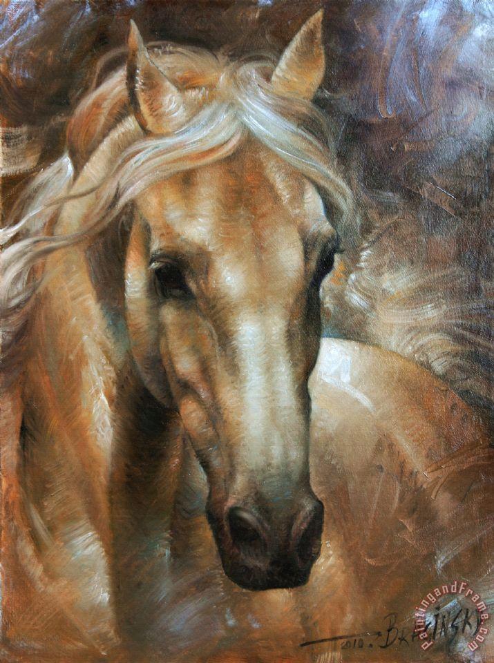 Arthur Braginsky Head Horse 2 painting - Head Horse 2 print for sale