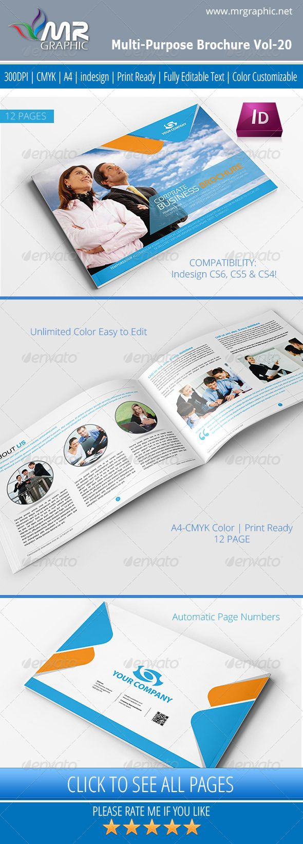 Graphicriver Book Cover Template Vol : Best images about print templates on pinterest fonts