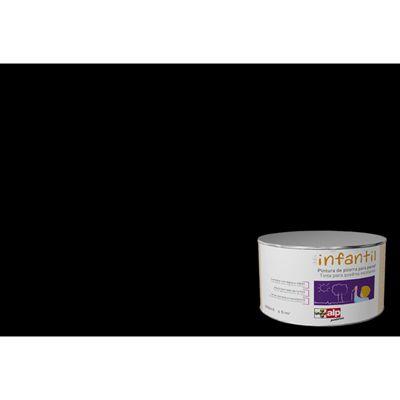 Tinta acetinada Giz ardósia 0.4L - ALP PRETO - Leroy Merlin