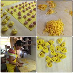 """I made pasta from scratch for the 1st time in my life with the mamas from Bologna! - """"Bolonha - Cidade Base para Viajar pela Itália"""" by @aprendizviajante"""