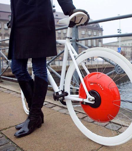 Copenhagen Wheel – a roda que transforma qualquer bicicleta num veículo eléctrico híbrido