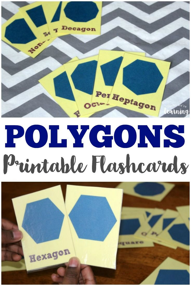 68 best free printable flashcards images on pinterest printable free printable polygon flashcards fandeluxe Choice Image