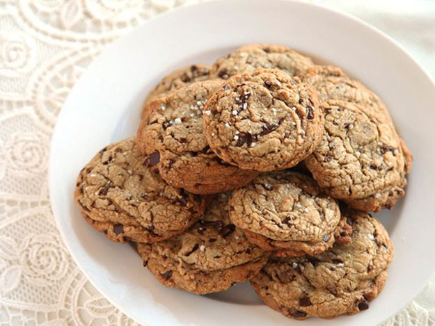 My favorite chocolate chip cookies: crisp, moist, chewy, gooey, and packed with buttery chocolate flavor.