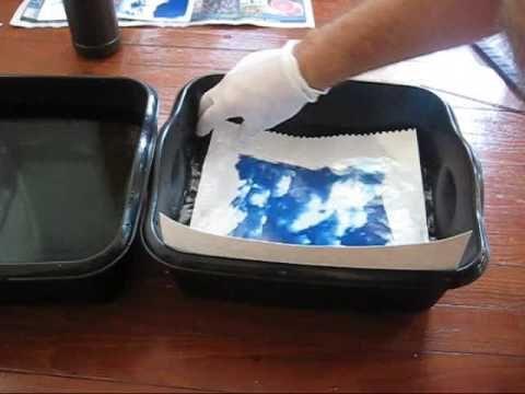 Video on cyanotyping