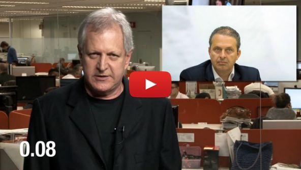 Folha Política: Augusto Nunes critica contradições de Lula sobre Eduardo Campos; veja vídeo