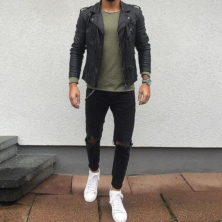 Tag someone you think would look good in this outfit #menwithstreetstyle by menwithstreetstyle