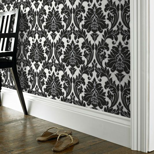 Majestic Black and White Wallpaper. The 25  best Black and white wallpaper ideas on Pinterest   Black