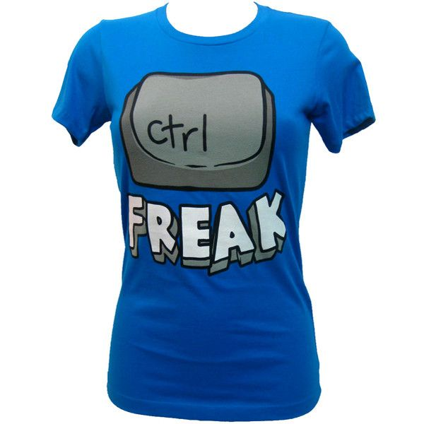 Goodie Two Sleeves Control Freak T-Shirt | Gothic Clothing | Emo... ($31) ❤ liked on Polyvore