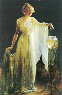 Goldfish  ~ Charles Courtney Curran ~ (American 1861-1942)