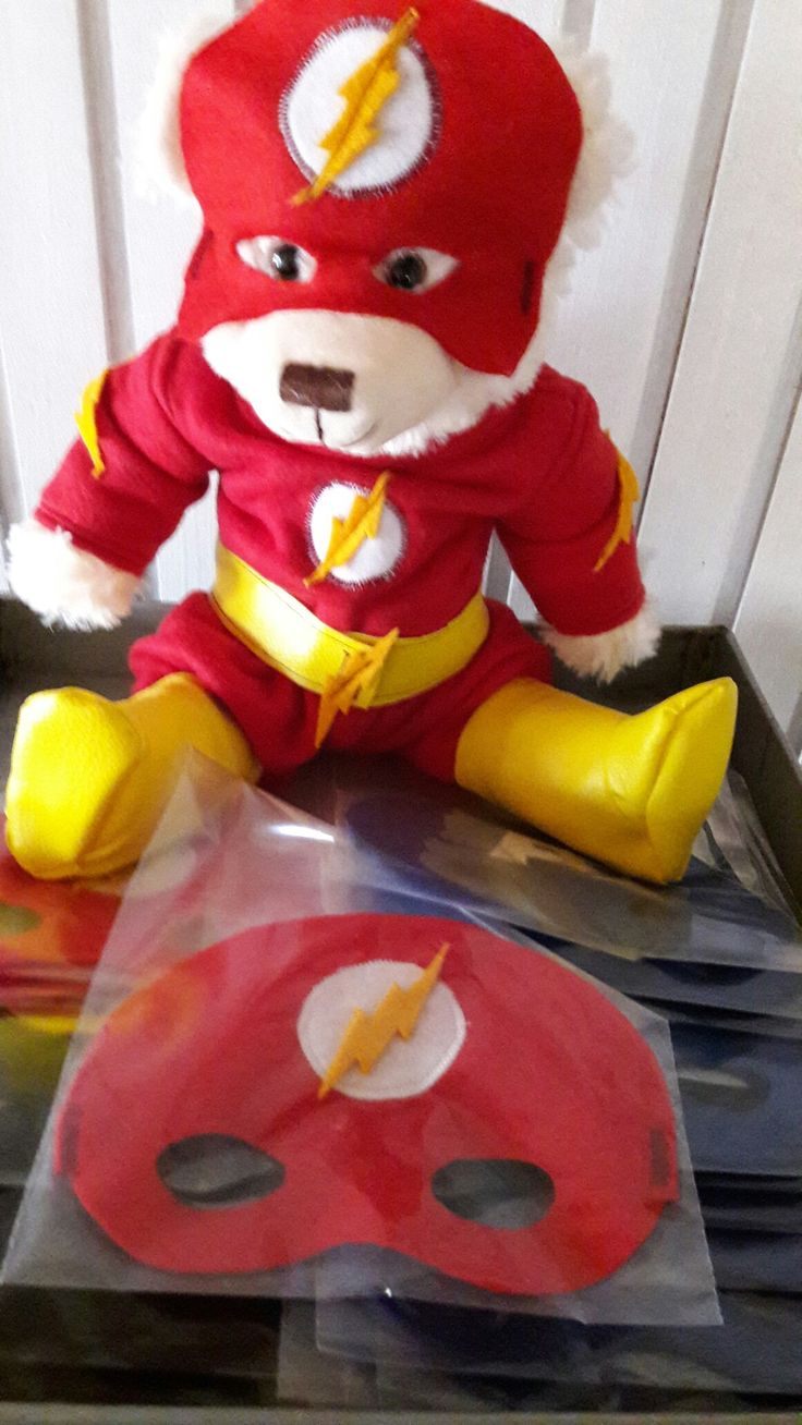 Flash our new Super hero bear