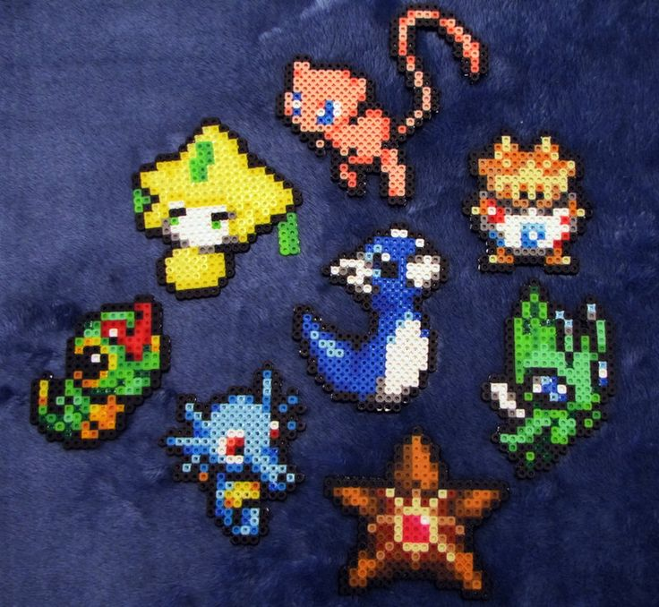 Small Perler Bead Patterns | Muliti small pokemon perler beads by BklynSharkExpert