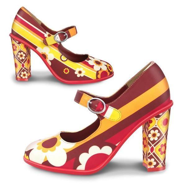 Ocasion Shoes - Chocolaticas® High Heels 1970 Women's Mary Jane Pump – Hot Chocolate Design