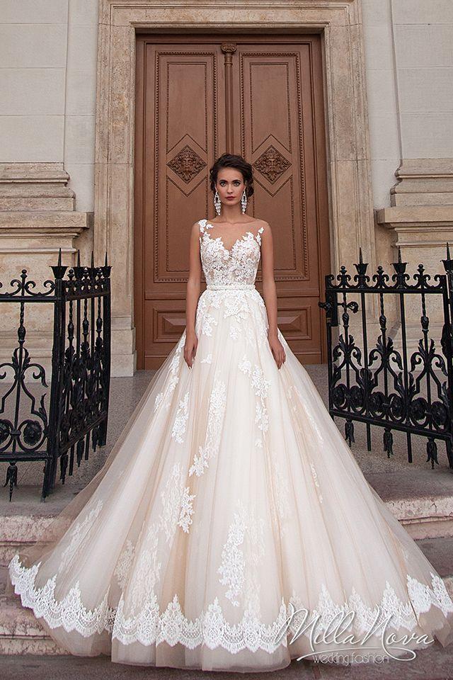 Milla Nova Jeneva, $1,399 Size: 12   New (Un-Altered) Wedding Dresses