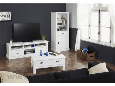Rustikální nábytek do obývacího pokoje Victoria