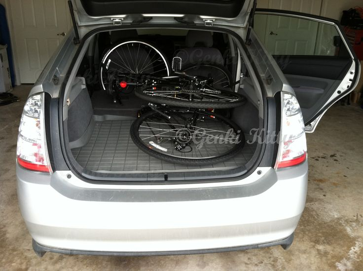 Bikes in a Prius