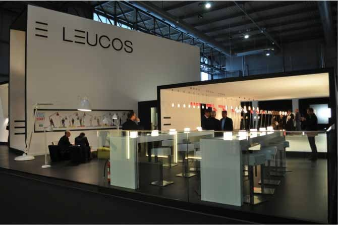 stand leucos euroluce2013 the great jj light your. Black Bedroom Furniture Sets. Home Design Ideas