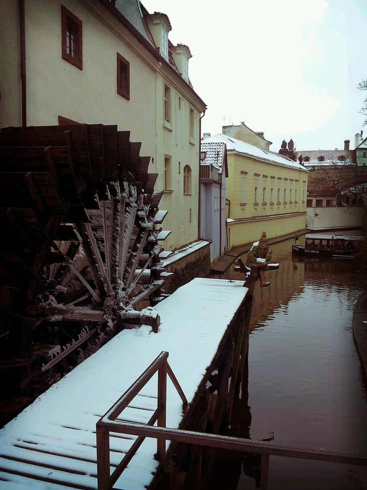Grand Priory Water Mill in Ice