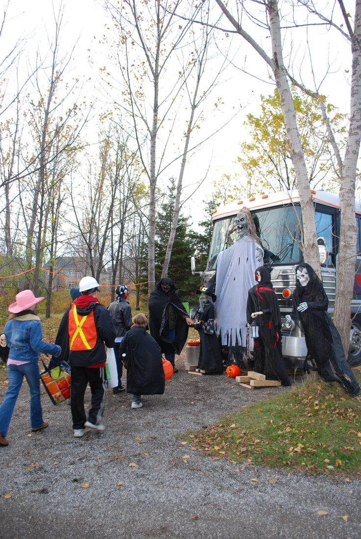 Camper Halloween at Bronte Creek Provincial Park  October 16-18 and 23-25 get into the spirit of Halloween (and not in a scary Blair Witch sort of way). This family friendly event lets registered campers decorate their sites for a chance to win prizes then dress up in your best costume and trick or treat around the campground.  For some spirited fun, join in the spooky guided evening hike were you will learn more about bats, owls and coyotes.  Make your campsite reservations now.