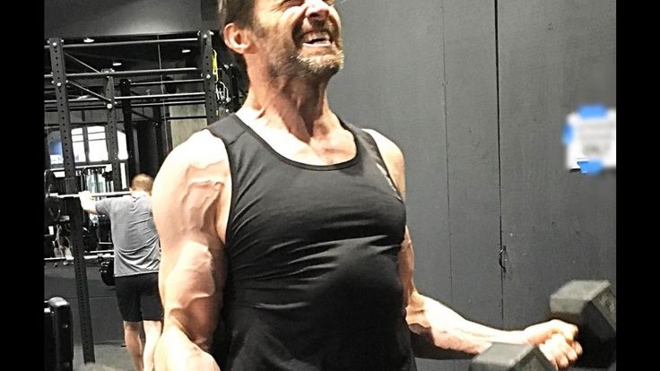 Hugh Jackman Training for Logan (Wolverine) Movie 2017
