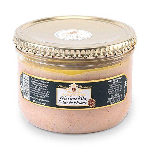 Foie Gras Groliere – Foie Gras D'Oie Entier Artisan Du Périgord – Conserve: Foie Gras d'Oie Entier 100% Périgord, Médaille d'Or Paris et…