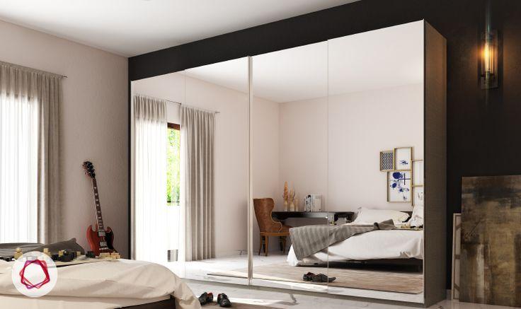 5 Cupboard Designs for Compact Rooms   Indian bedroom ...