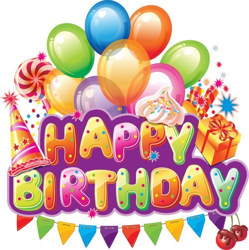 1455 Best Birthday Clipart Images On Pinterest Birthdays