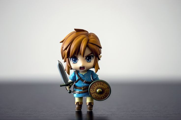733 Link Breath of the Wild | Considering Breath of the Wild is one of my all time favorite games, I thought it was appropriate that my first Nendoroid would be Link.