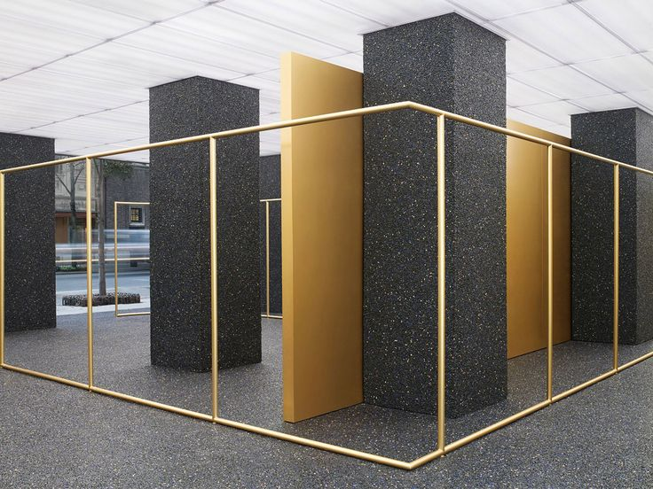 Acne Store in Madison Avenue by Max Lamb | Yellowtrace