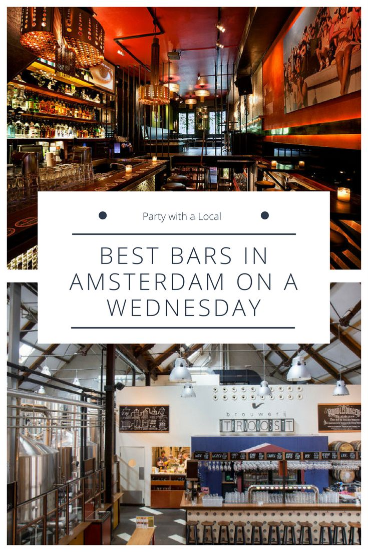 Visiting Amsterdam for a few days but don't want to wait 'til the weekend to party? Don't worry – There's plenty of great places to go for your dose of mid-week madness on a Wednesday, you just need to know where to look… That's why we asked the Amsterdammers in the Party with a Local community for their tips!