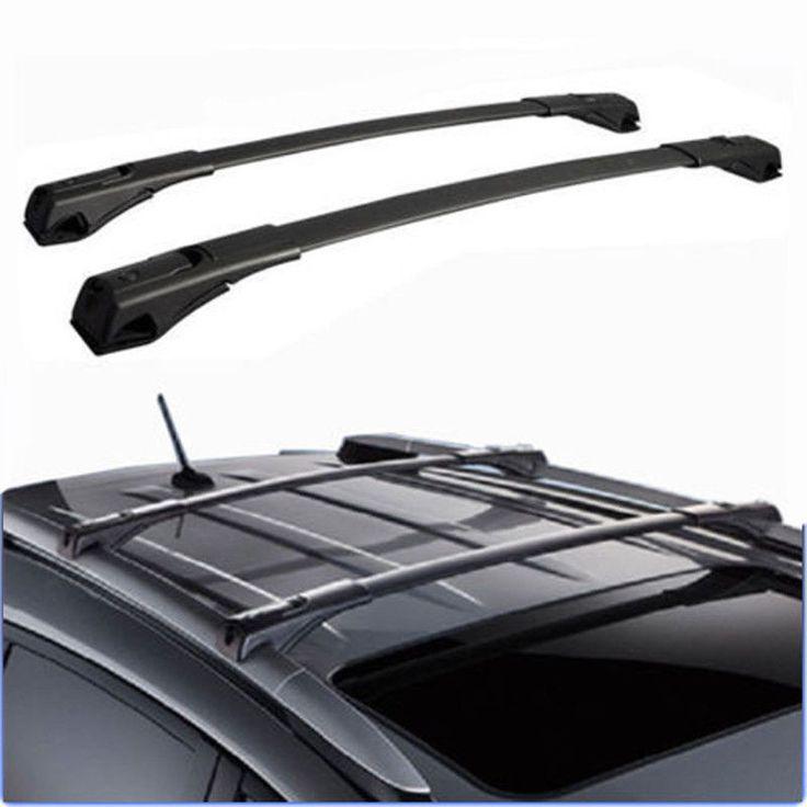 Awesome Amazing For 13 16 Toyota RAV4 Roof Rack Cross Bars Set Luggage  Carrier Black