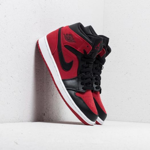 100% authentic 1a147 ecb12 Air Jordan 1 Mid Gym Red/ Black-White | Footshop | Red in ...