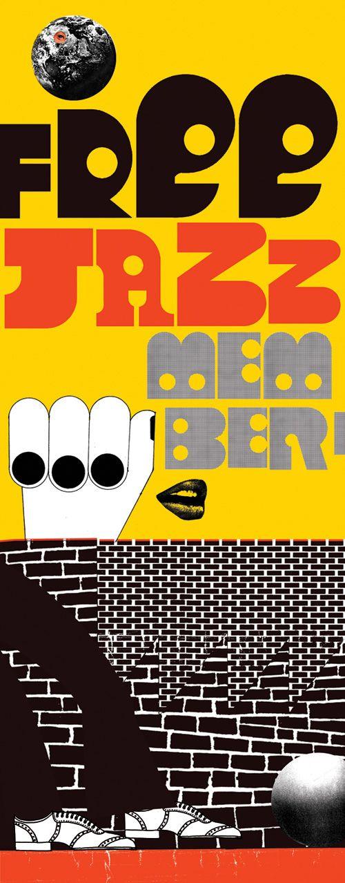 Free Jazz Member poster by Neasden Control Centre
