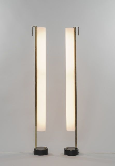 Pierre Guariche, 'Pair of floor lamps G54,' 1959, Galerie Pascal Cuisinier