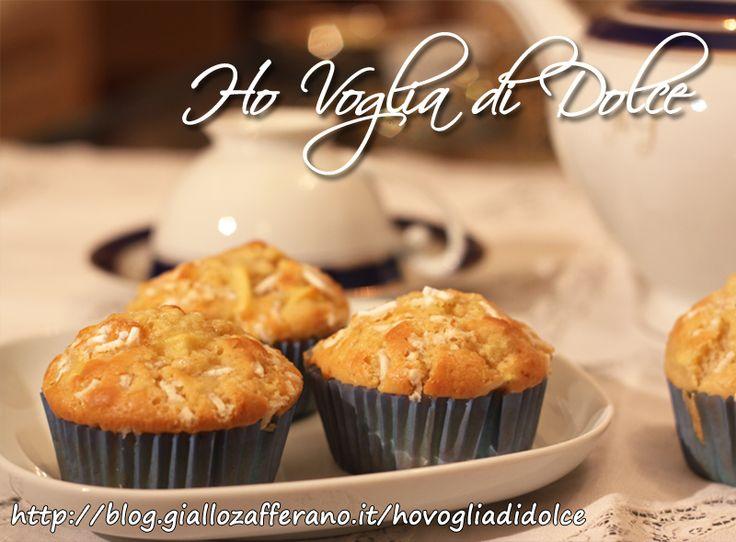 Muffin alle mele e cannella, ricetta sofficissima | Ho Voglia di Dolce