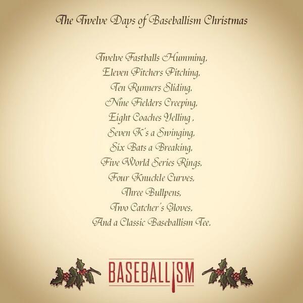 Baseball Christmas