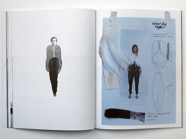 Fashion Sketchbook - fur cape design, fashion drawings textile samples - fashion design process; fashion portfolio // Sabela Tobar