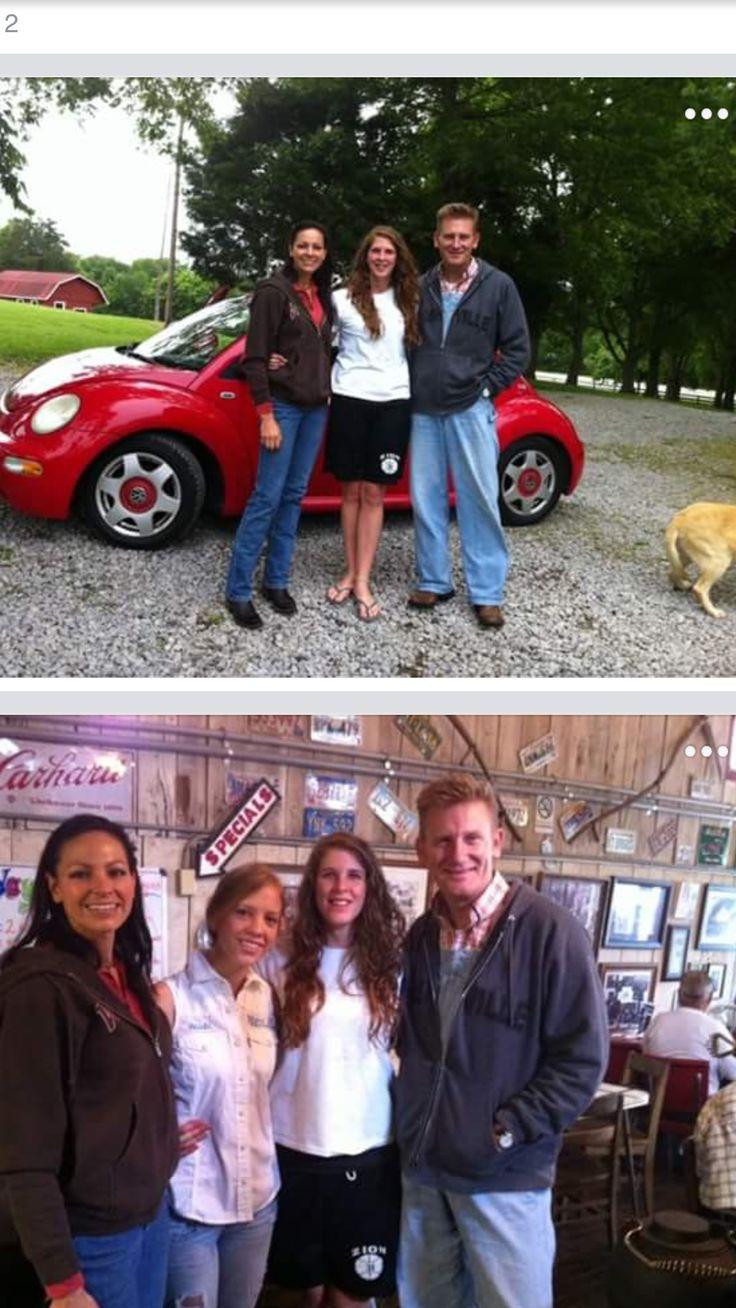 Joey, Heidi,Hope, and Rory Feek #sweetgodlyfamily #beforeIndiana
