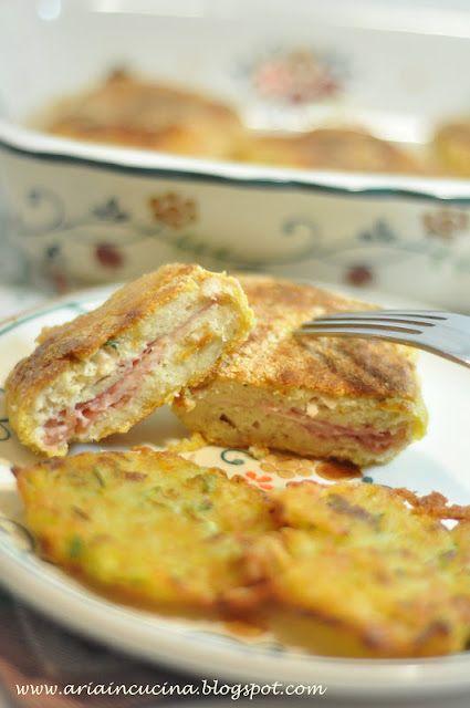 Blog di cucina di Aria: Cordon bleu al forno con rostì di patate e zucchine