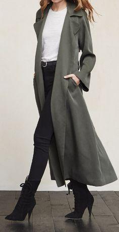 Duster Coat - Spring Essential
