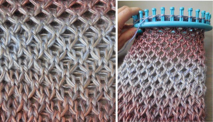 tutorial breiring: Zomerse sjaal in Diamant steek (english notes)                                                                                                                                                                                 Más