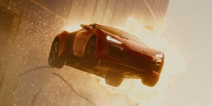 """The Lykan HyperSport hypercar that flies between buildings in """"Fast and Furious 7"""" is the breakout star of the film."""