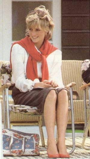 Diana , Windsor pour un match de polo - Le 25 Mai 1983