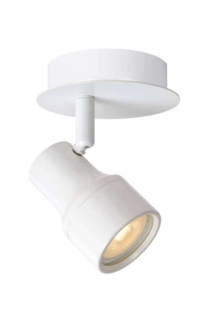 Badkamer plafondlamp richtbaar wit of chroom GU 4,5W LED