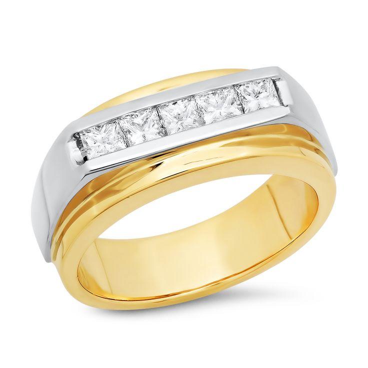Jewelers Enterprise - Mens Diamond Ring .85 ct. tw., $1,758.99 (http://www.jewelersenterprise.com/mens-diamond-ring-85-ct-tw/)