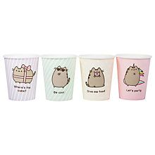 Buy Pusheen Paper Cups, Pack of 8 Online at johnlewis.com