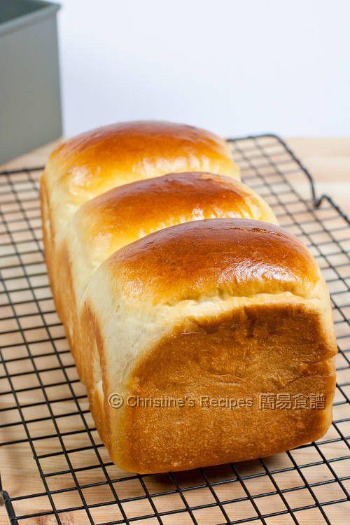 Hokkaido Milk Toast (Soft and Fluffy Bread) from Christine's Recipes