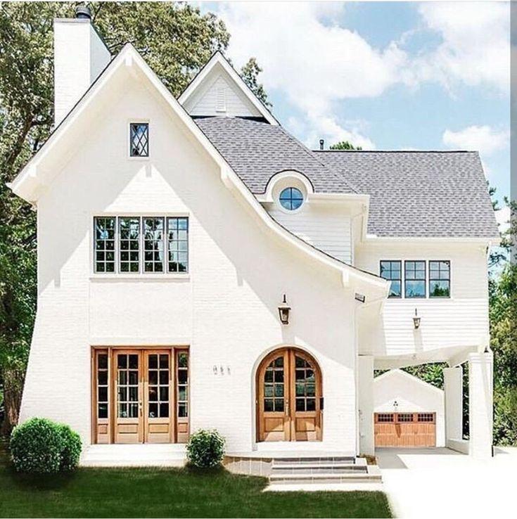 Contemporary Grey House Exterior Waplag Natural Stone Of: Best 25+ Black Windows Exterior Ideas On Pinterest