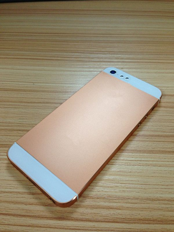 iphone 5 rose gold back cover iphone 5 parts pinterest. Black Bedroom Furniture Sets. Home Design Ideas