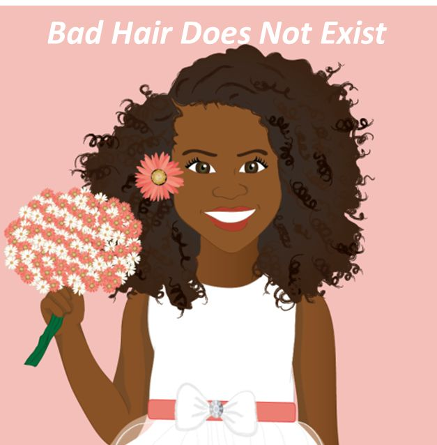 """""""Bad Hair Does Not Exist"""" is a book that was created to empower little girls so they can embrace and love their beautiful natural hair. Fun illustrations were created to help describe different types of hair and hairstyles! Written by Sulma Arzu-Brown and illustrated by Isidra Sabio Published by Afro-Latin publishing https://www.facebook.com/AfroLatinPublishing #nobadhair #blackpeople #naturalhair #blackgirls #badhairdoesntexit"""