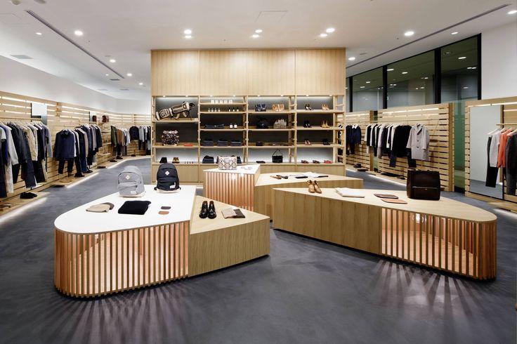 new a p c store in osaka japan nouvelle boutique a p. Black Bedroom Furniture Sets. Home Design Ideas